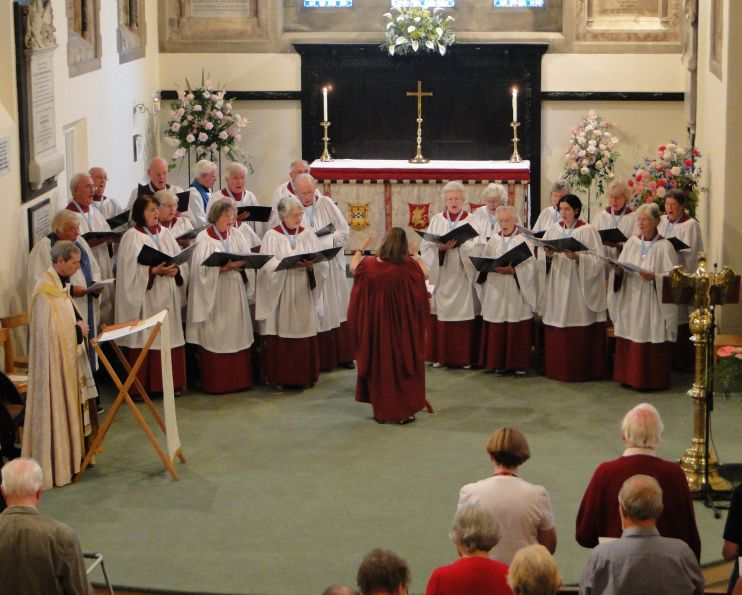 St Mark's choir