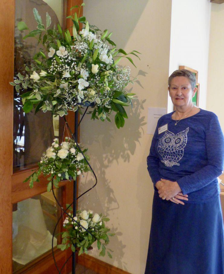 A flower arranger